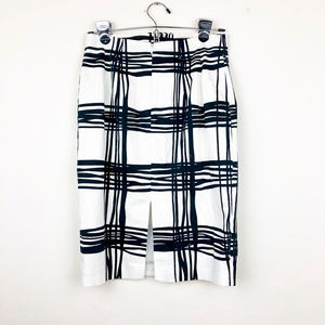 Express Skirts - Express Black and White Pencil Skirt
